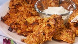 Vyzkoušela jsem už spoustu receptů na křupavé kuře, ale tento je úžasný! Jídlo z